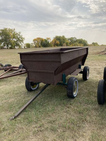David Bradley grain/feed wagon