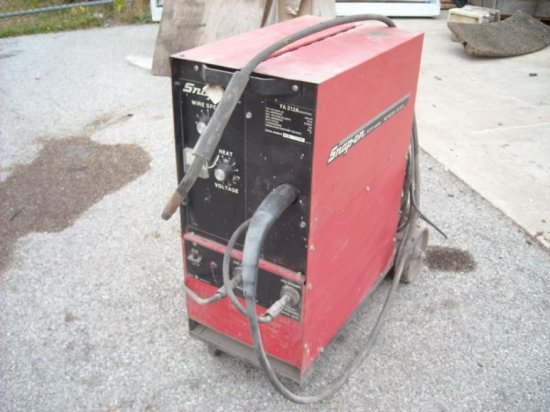 Snap On Mig Welder 230 Amp Mold Ya212a Industrial Auctions Online Proxibid