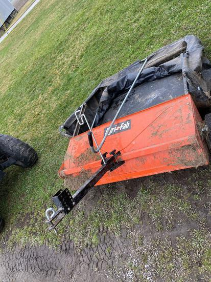 Agri fab pull sweeper