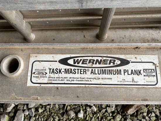Pair of Werner walk planks model 2016 task master