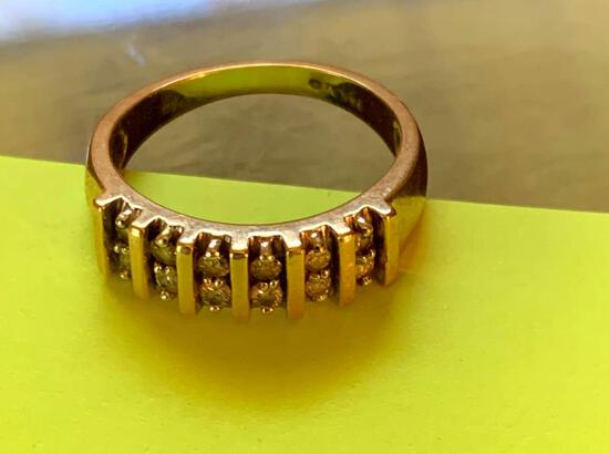 Ladies ring ,marked 14K A