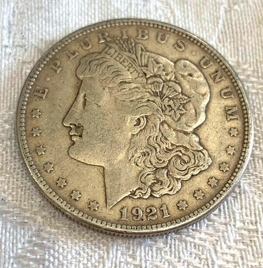Morgan dollar 1921S