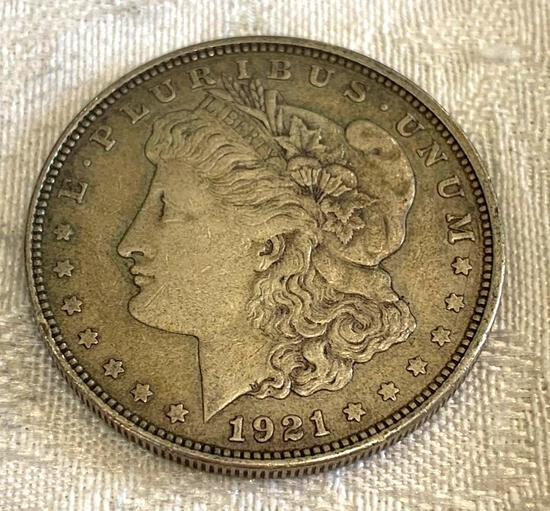Morgan dollar 1921