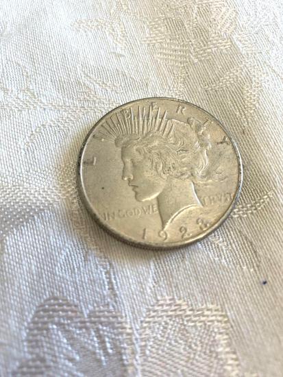 Peace silver dollar 1928S