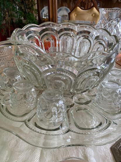 Large vintage Punch bowl