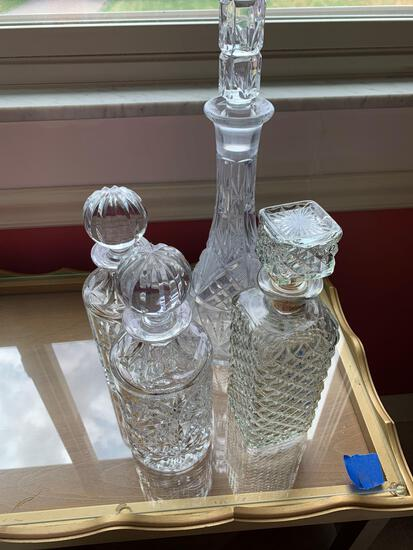 For wine decanters