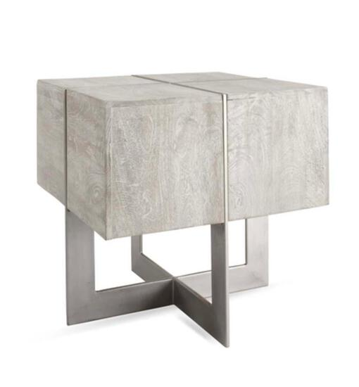 Z Gallerie Clifton square end table