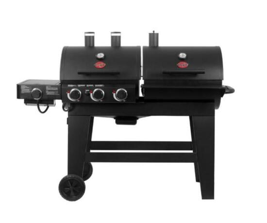 Char-griller grills and smoker model 5650
