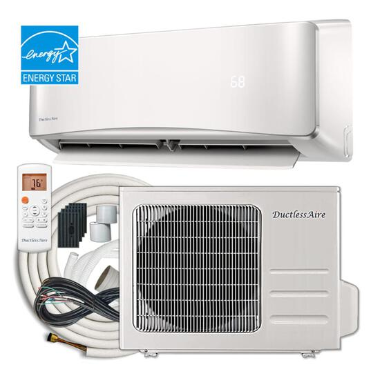 Ductless Aire DC inverter mini split heat pump outdoor unit 2400o BTU