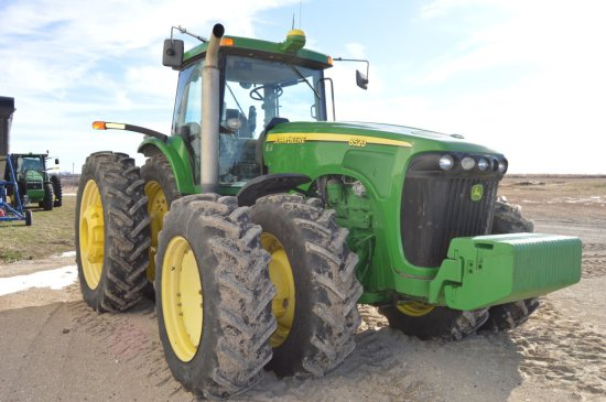 2004 JD 8520 MFWD Tractor