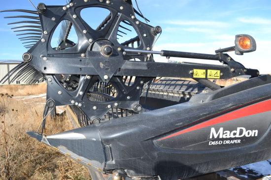 2013 Mac Don 30 ft Rigid Draper Harvest Header