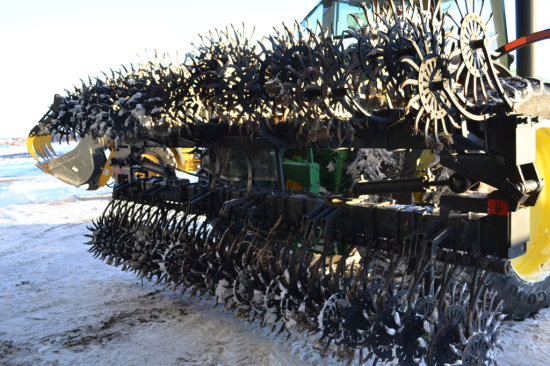Yetter 30 ft. Rotary Hoe