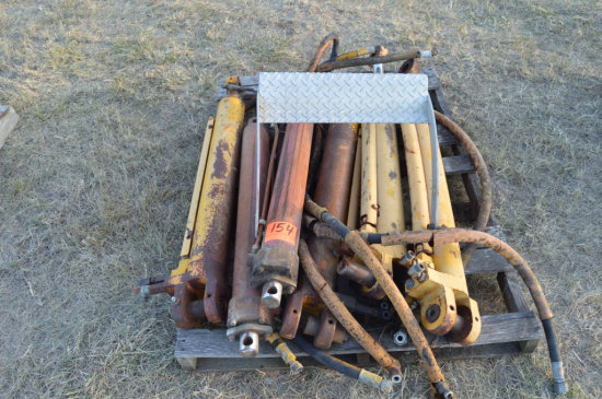 6 Hyd Cylinders for Parts