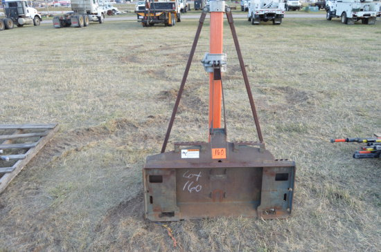 Skidsteer mounted Hot Stick/Phase Lifter