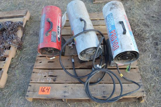 3 Redi Heaters