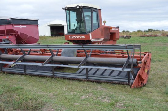 Hesston 6550 Swather