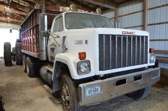 1986 GMC Brigadier Grain Truck,