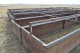 Homemade Steel Feed Bunk