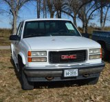 1996 GMC Sierra 1500 Club Cab Pickup, 139k mi., 4wd, runs good