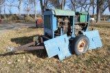 4 cyl. Gas Military Generator, 110/220V
