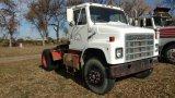 1981 International S2155 Truck, Single Axle
