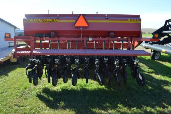 Sunflower 9433 Double Disc Drill