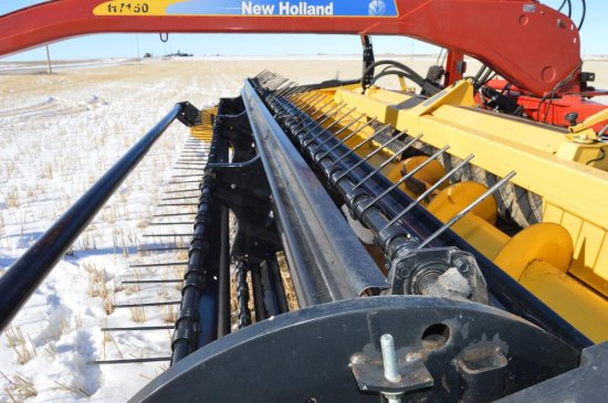 New Holland HS Series Mid-Pivot Swather