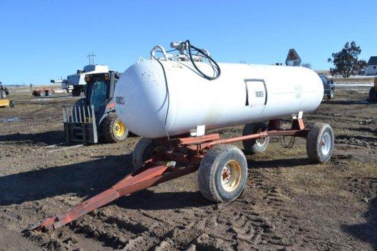 1000 gal Portable Fuel Tank