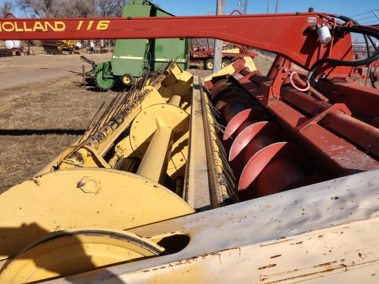 NH 116 Hydroswing Swather, 16 ft., Good Condition