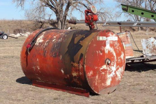 500 Gal Diesel Tank