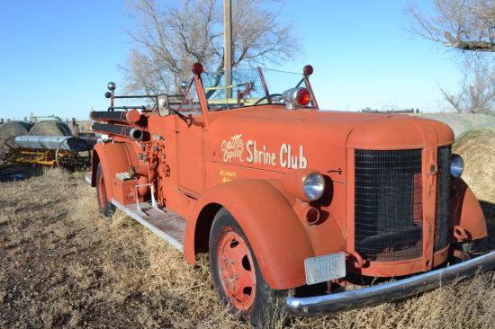 1941 American LaFrance Fire Truck,