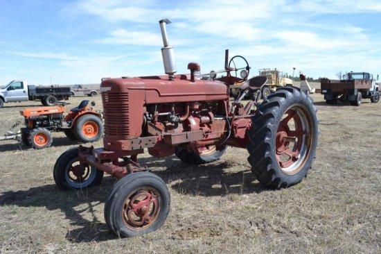 Farmall M tractor,