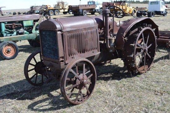 McCormick Deering Tractor w/ Cleated Wheels, sn-KC87478