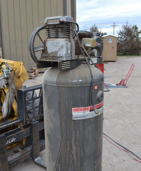 Airborn Commercial Shop Air Compressor