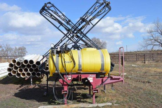 2009 Demco 60' 3 Pt. Sprayer,