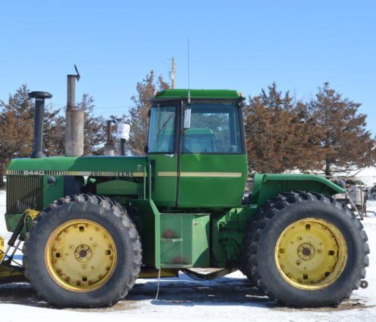 JD 8440 4WD Tractor,