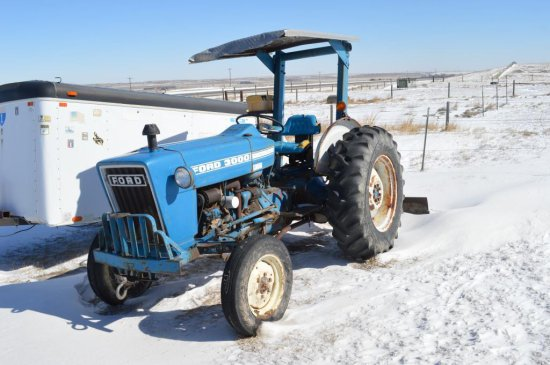 Ford 3000 Dsl. Tractor