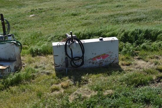 L Shaped Fuel Tank