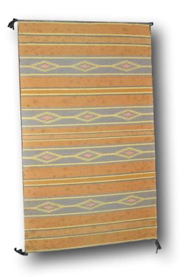 25.5 x 43 Navajo Rug