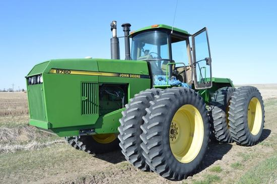 1991 JD 8760 4WD Tractor