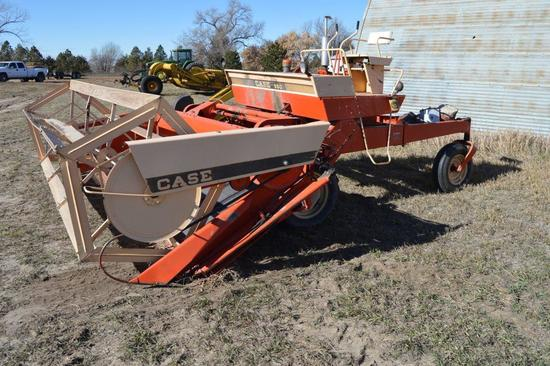 Case 950 Self-Propelled Swather 14 ft  Draper Head | Farm