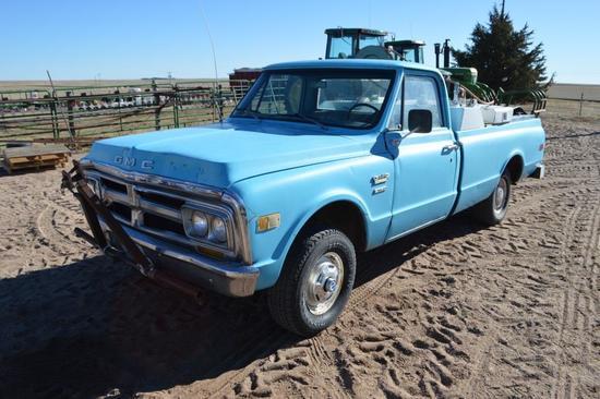 1971 GMC 350 1/2 Ton Pickup