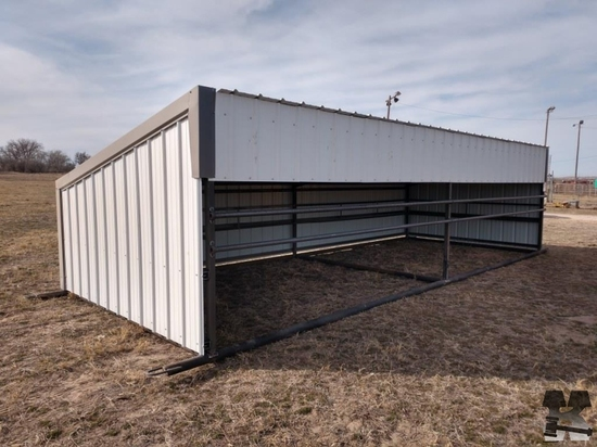 12ft x 30ft Portable Calf Shelter