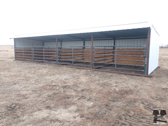 12ft x 40ft Calving Shed