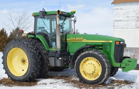 Rusty Wheel Farm Equipment Auction