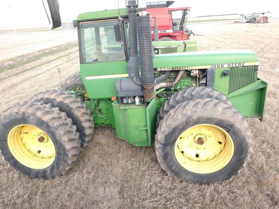 JD 8450 4WD Tractor