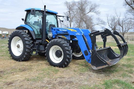 New Holland T6050 Elite MFWD Tractor