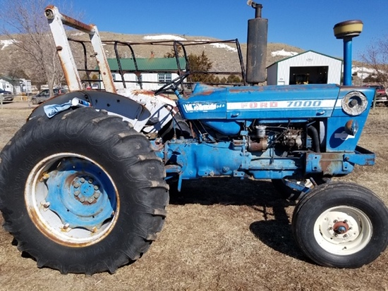 Ford 7000 Tractor,