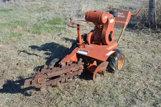 Ditch Witch Model C99 Walk Behind Trencher