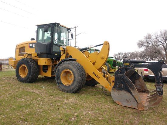 2014 Caterpillar 924K Wheel Loader,